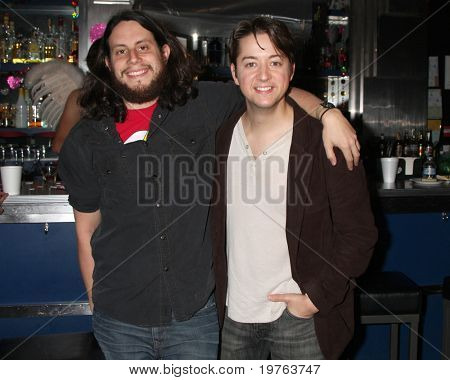 LOS ANGELES - DEC 17:   Avi Glijansky, Bradford Anderson (Achilles) on set during the making of the movie