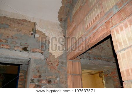 Reconstruction Of An Interior Of A Historic Building