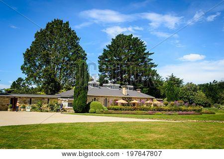 The Gardens of Larnach Castle Dunedin New Zealand