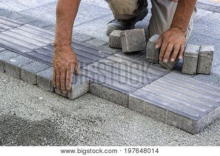 Installing Tactile Paving 3