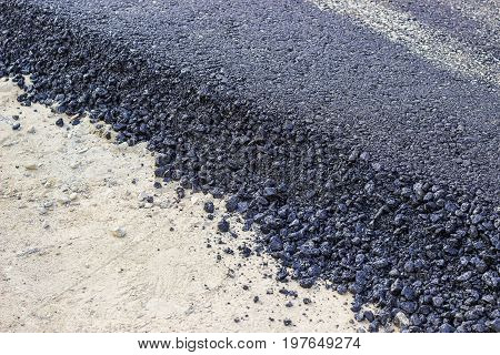 New Hot Fresh Layer Of Asphalt 3