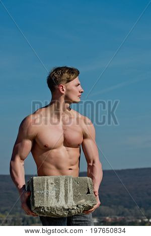 Adam Hold Bog Stone.