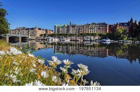 Stockholm, Sweden early morning