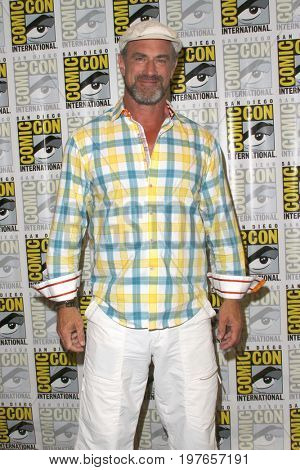 SAN DIEGO - July 22:  Christopher Meloni at Comic-Con Saturday 2017 at the Comic-Con International Convention on July 22, 2017 in San Diego, CA