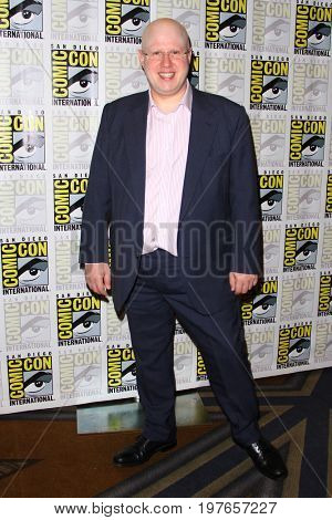 SAN DIEGO - July 23:  Matt Lucasi at Comic-Con Sunday 2017 at the Comic-Con International Convention on July 23, 2017 in San Diego, CA