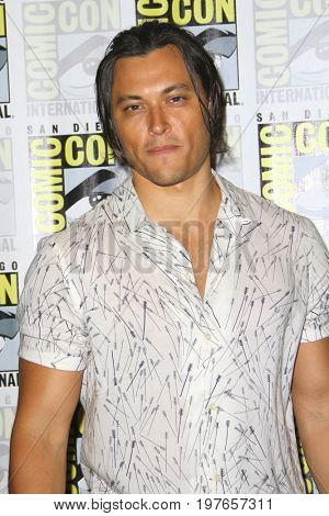 SAN DIEGO - July 22:  Blair Redford at Comic-Con Saturday 2017 at the Comic-Con International Convention on July 22, 2017 in San Diego, CA