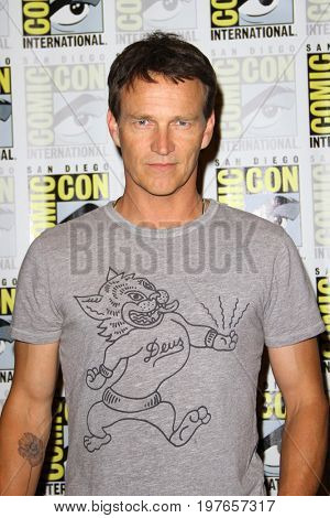 SAN DIEGO - July 22:  Stephen Moyer at Comic-Con Saturday 2017 at the Comic-Con International Convention on July 22, 2017 in San Diego, CA
