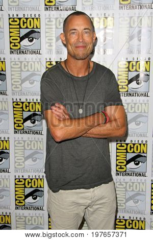 SAN DIEGO - July 22:  Tom Cavanagh  at Comic-Con Saturday 2017 at the Comic-Con International Convention on July 22, 2017 in San Diego, CA