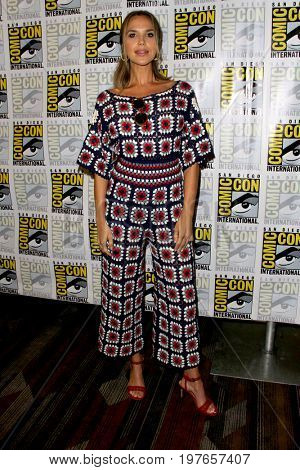 SAN DIEGO - July 22:  Arielle Kebbel at Comic-Con Saturday 2017 at the Comic-Con International Convention on July 22, 2017 in San Diego, CA