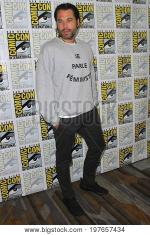 SAN DIEGO - July 22:  Tim Rozon at Comic-Con Saturday 2017 at the Comic-Con International Convention on July 22, 2017 in San Diego, CA