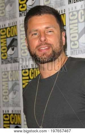 SAN DIEGO - July 21:  James Roday at Comic-Con Friday 2017 at the Comic-Con International Convention on July 21, 2017 in San Diego, CA