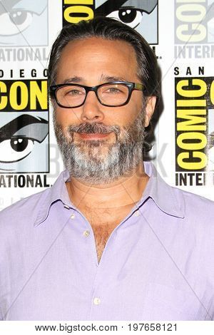 SAN DIEGO - July 21:  Jason Rothenberg at Comic-Con Friday 2017 at the Comic-Con International Convention on July 21, 2017 in San Diego, CA