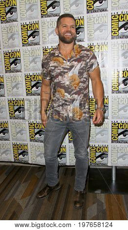 SAN DIEGO - July 22:  Wes Chatham at Comic-Con Saturday 2017 at the Comic-Con International Convention on July 22, 2017 in San Diego, CA