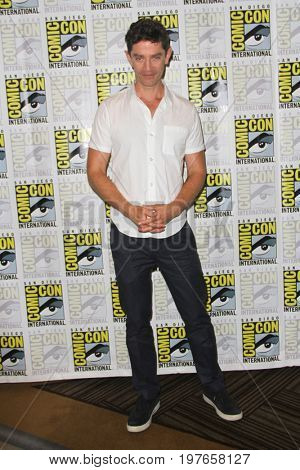 SAN DIEGO - July 22:  James Frain at Comic-Con Saturday 2017 at the Comic-Con International Convention on July 22, 2017 in San Diego, CA
