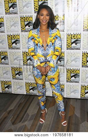 SAN DIEGO - July 22:  Candice Patton at Comic-Con Saturday 2017 at the Comic-Con International Convention on July 22, 2017 in San Diego, CA