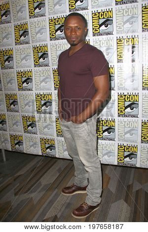 SAN DIEGO - July 21:  Malcolm Goodwin at Comic-Con Friday 2017 at the Comic-Con International Convention on July 21, 2017 in San Diego, CA