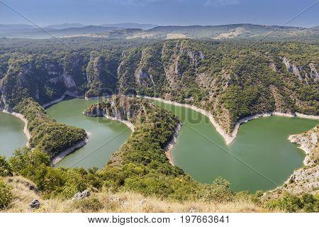 Meandering River Uvac