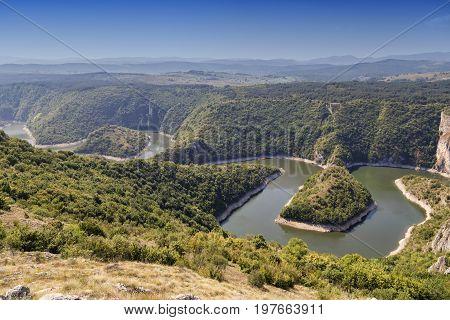 Meanders Of Uvac River