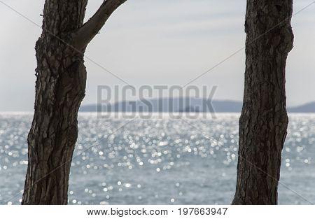 Beautiful postcard of summer in Italian coastline