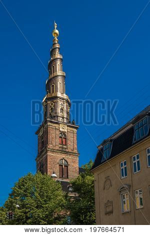 Church of Our Saviour in Copenhagen Denmark
