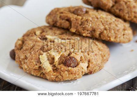 Vegan Almond Pulp Biscuits