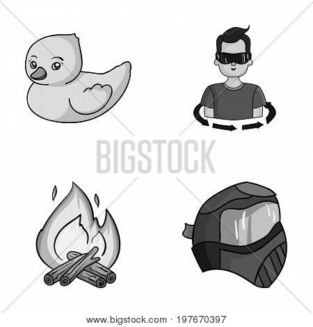 paintball, tourism and other  icon in cartoon style.technology, game icons in set collection.