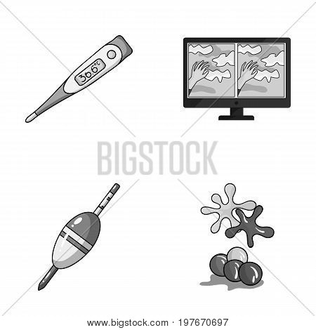 medicine, fishing and other  icon in cartoon style.technology, paintball icons in set collection.