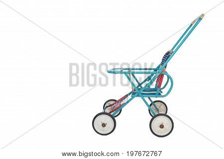 A Foldable Retro Baby Stroller