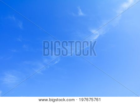 sky and cloud summer time beautiful background with copy space add text
