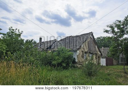 Old Devastated House