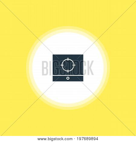 Beautiful Online Element Also Can Be Used As Target Scope Element.  Vector Illustration Of Screen Capture Icon.