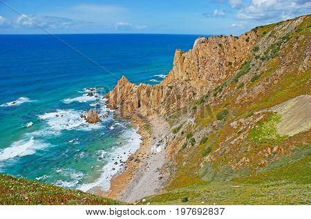 Aroeira Beach At Cape Roca