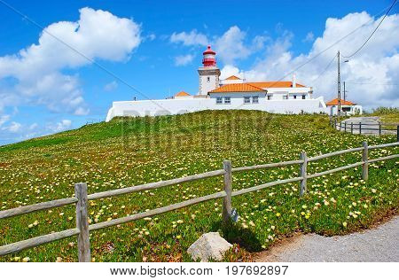 The Lighthouse Of Cape Roca