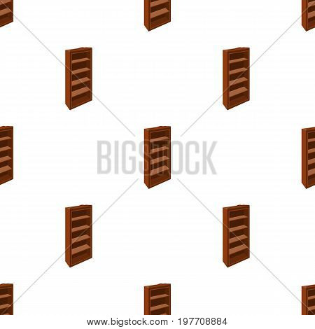 The little bookcase.Home library.books to read.Bedroom furniture single icon in cartoon style vector symbol stock web illustration.