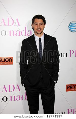 LOS ANGELES - JAN 18:  Nicholas D'Agosto arrives at