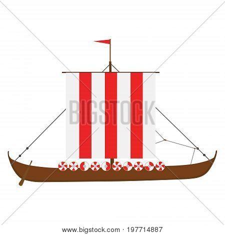 Viking Medieval Drakkar