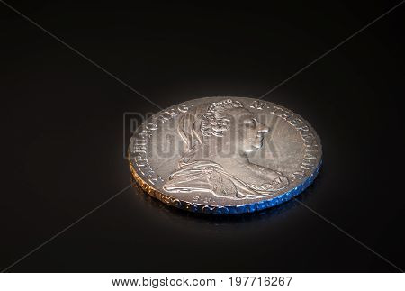 The famous silver coin from the 18th century