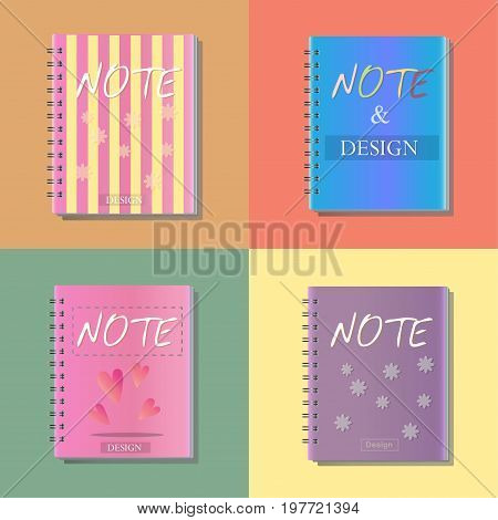 note icon notebook office vecter illustration design