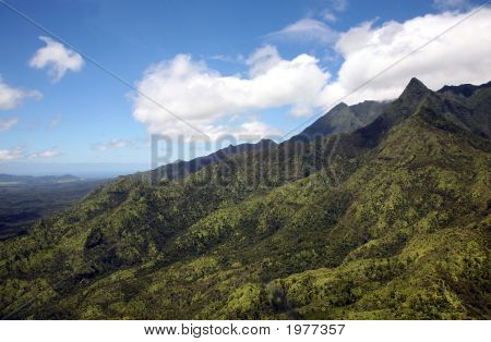 Tropical Mountain Range