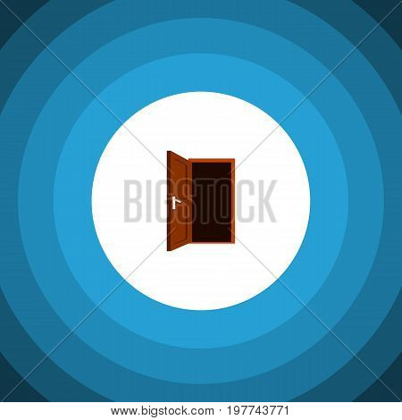 Approach Vector Element Can Be Used For Frame, Door, Approach Design Concept.  Isolated Frame Flat Icon.