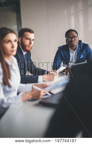 Business Team meeting Empowerment Success Motivation Concept