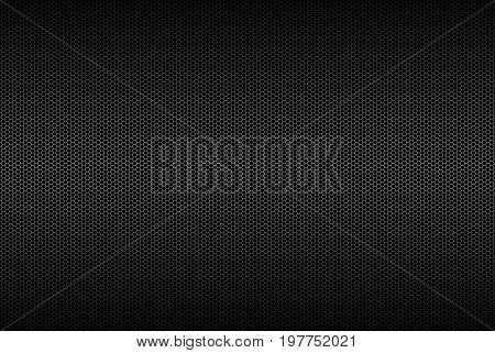 Geometric polygons background abstract black metallic background vector illustration
