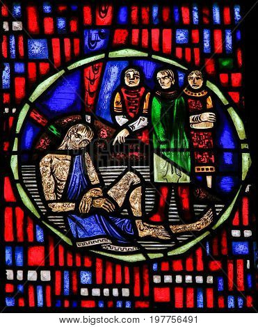 Stained Glass In Worms - Job