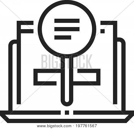 Search For Records Icon