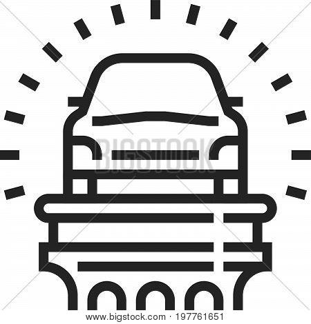 Vehicle Law Icon