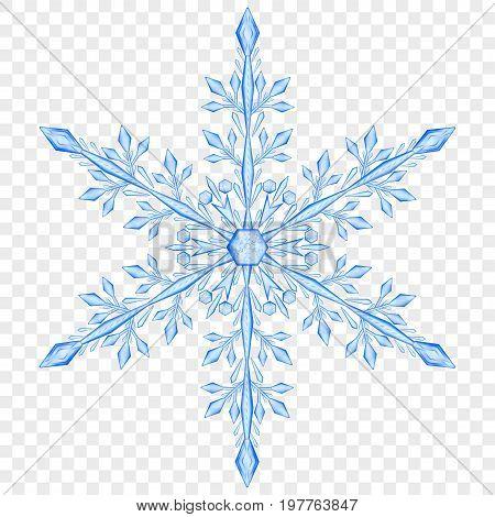 Big Translucent Christmas Snowflake