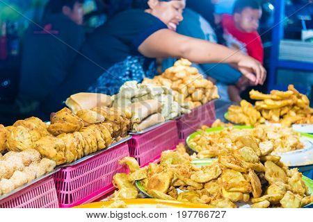 Gianyar Night Market In Gianyar Province, Bali, Indonesia