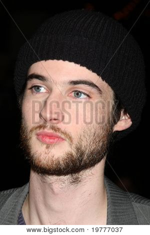 LOS ANGELES - FEB 1:  Tom Sturridge arrives at the