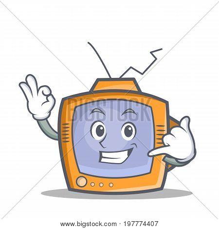 TV character cartoon object call me vector art
