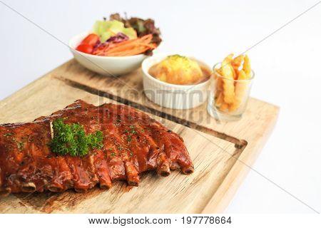 BARBECUE. Pork Spare Ribs Baby Ribs Pork Rips